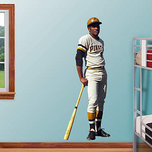 Roberto Clemente Fathead Wall Decal